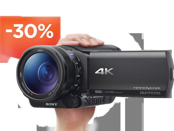 Видеокамеры со скидкой до 30%!