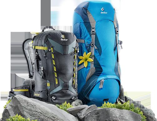 Удобные рюкзаки Deuter от 2 499 руб.